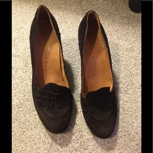 Chie Mihara brown velvet shoes (sz. 39)